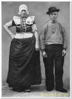 Traditional Dutch Dress, 1916