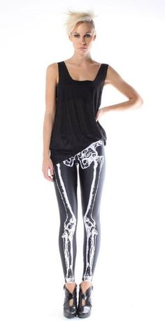 If my legs were skinnier, you better believe i would have a pair of Skeleton leggings