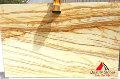 Gold Macaubas is a slab of this gorgeous quartzite features a creamy background of off-white or soft white with pale gold and brown veining !!! #QualityStones #marble #granite #quartz #quartzite #kitchen #countertop #project #qualitystones.com Marble Quartz, White Quartz, Quartzite Countertops, Granite, Fort Myers, Natural Stones, Kitchen, Gold, Reuse