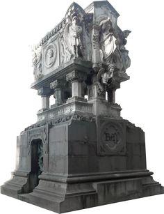 Edicola funeraria di Giuseppe Baj / Cimitero Monumentale Milano Statue Of Liberty, Lion Sculpture, Travel, Statue Of Liberty Facts, Viajes, Statue Of Libery, Destinations, Traveling, Trips