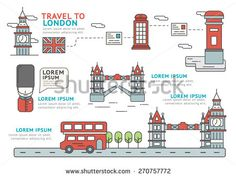 Set of Flat line icon & infographic design concept Travel to London / Infographic Element / icon / Symbol , Vector Design Vector Design, Vector Art, Mobile Advertising, Line Icon, Fashion Flats, Infographic, Royalty Free Stock Photos, Diagram, Concept