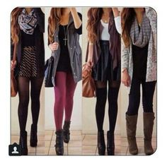 Love all the outfits!