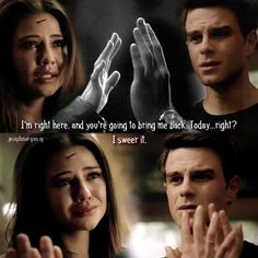 Joseph Morgan - The Originals: . This scene 😭 My heart is broken 💔 Vampire Diaries Funny, Vampire Diaries Cast, Vampire Diaries The Originals, Kol And Davina, Davina Claire, Danielle Campbell Gif, The Mikaelsons, Nathaniel Buzolic, Kol Mikaelson