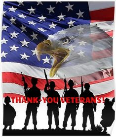 'Thank-You Veterans For Your Service!' Poster by walkingrock - - Show your appreciation for our troops with this 'Thank-you Veterans' t-shirt. We have our freedom because of them! Veterans Day Poem, Veterans Day Photos, Happy Veterans Day Quotes, Free Veterans Day, Veterans Day 2019, Veterans Day Thank You, Veterans Day Activities, Veterans Day Gifts, American Veterans