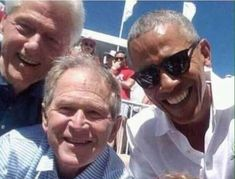 President Barack Obama and Former Presidents Bill Clinton and George W. Barack Obama, Black Presidents, American Presidents, American Soldiers, First Black President, Former President, Obama President, Believe, Joe Biden