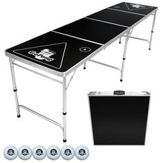 Which are the top best folding beer pong tables? If you were asked to name the best beer pong tables, would you be able to name some? Beer Table, Beer Pong Tables, A Table, Beer Games, Tailgate Table, Pong Game, Ping Pong Table Tennis, Ping Pong Paddles, More Beer