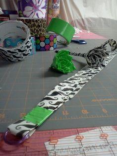 My duct tape DIYS