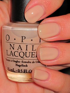 OPI Samoan Sands  My favourite shade right now - 26/12