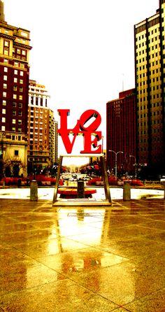 Love Park. Philadelphia, PA - Check!
