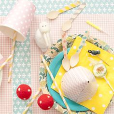 My Little Day -- French children's party supply, good inspiration site
