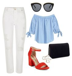 """""""79"""" by ddaisiee on Polyvore featuring River Island, Le Specs, Miss Selfridge and Sam Edelman"""