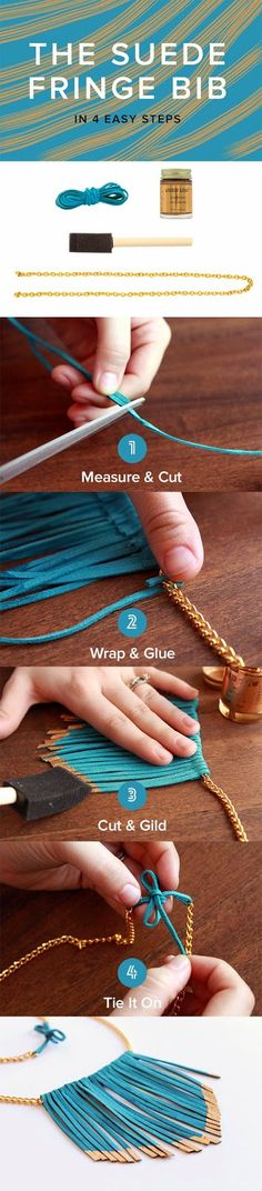 Tutoriales y DIYs: DIY - Collar etnico