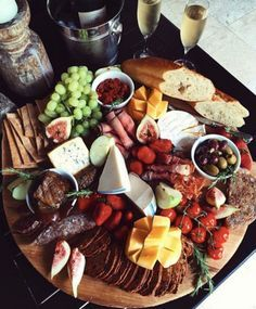 Planning a summer birthday party? Our entertaining experts have 25 summer birthday party ideas. We love a good cheese plate. Meat Cheese Platters, Cheese Appetizers, Meat And Cheese, Food Platters, Cheese Plates, Cheese Table, Meat Platter, Party Platters, Adult Birthday Party