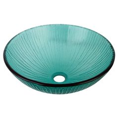 """Fauceture EVSCFC2 Constellation 16-1/2"""" Diameter Round Vessel Glass Sink, Clear - Price: $159.95 & FREE Shipping over $99     #kingstonbrass"""