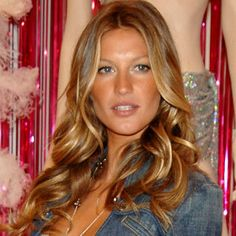 gisele bundchens hair!! sunkissed curls