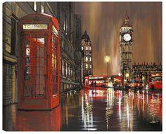 Cityscape Artist Paul Kenton