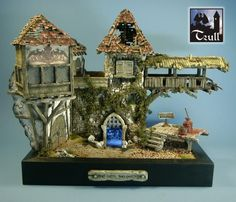 Models of ruins and tutorials to make them. Translation buttons provided (Trulls Fantastische Welten: Ruin)