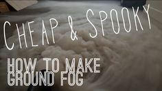 This fog chiller could easily be made for under $10, or free if you can find this stuff laying around. The fog machine is a Chauvet Hurricane 700 and the pip...