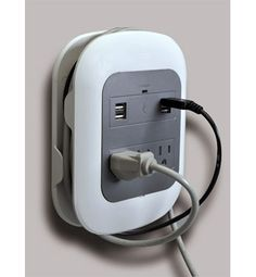 Multi Outlet Charging Station. 3 outlets and 4 USB outlets.