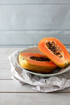 For a healthy snack indulge in papaya. This fruit is packed with powerful antioxidants that help prevent the oxidation of cholesterol.