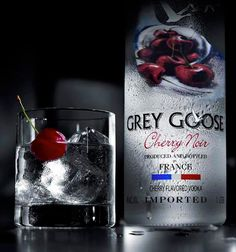 Boozy Tuesday: Grey Goose Cherry Noir. | Girly Obsessions