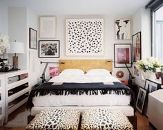 Would REALLY like to DIY/copy this painting. (via danielle oakey interiors: Lonny Love: Michelle Adams Apartment Tour)