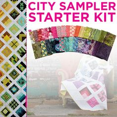 City Sampler Starter Kit-Tula Pink