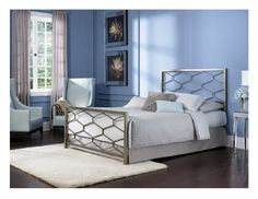 Leggett and Platt Fashion Bed Group Camden Golden Frost Bed, Queen, Silver Fashion Bed Group http://www.amazon.com/dp/B008JGEW8I/ref=cm_sw_r_pi_dp_PNxStb1WB224ZTFB