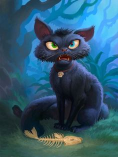 Hall of Fame full art - Hearthstone Wiki Cat Character, Character Design, Medieval, Kitty Games, Cat Drawing, Types Of Art, Fantasy Creatures, Dungeons And Dragons, Dark Art
