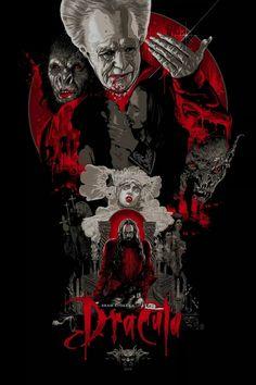 Amazing Bram Stoker's Dracula artwork,by Vance Kelly.