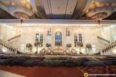 Winter Wedding | Lightworks Wedding Reception Venues, Wedding Stage, Pacific Place, Lotus Design, Staging, Lighting Design, Wedding Cakes, Wedding Decorations, Mansions