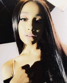 Ariana With No Bangs