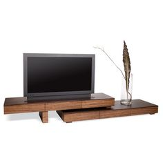 Anguilla Modern TV Stand storage from CRIBCANDY - a gallery of hand picked houshold and interior design items from magazines and webogs, every day
