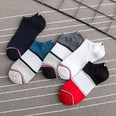 Mens Patchwork Cotton Boat Socks Stripe Casual Breathable Elastic Ankle Sock is cheap and designer, see other cool socks on NewChic. Casual Shirts For Men, Men Casual, Pineapple Socks, Kids Nightwear, Short Socks, Fashion Socks, Ankle Socks, Passion For Fashion, Menswear