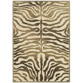Found it at Wayfair - Paradise Zebra Brown Area Rug