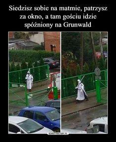 No tu strzępić ryja? Wtf Funny, Funny Cute, Polish Memes, Weekend Humor, Funny Mems, Text Memes, Read News, Man Humor, Funny Comics