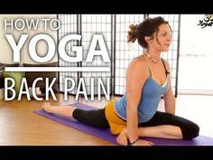 Yoga For Back Pain - 30 Minute Back Stretch, Sciatica Pain, & Flexibility Yoga Flow - YouTube
