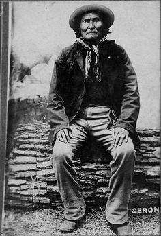 Geronimo (Apache), 1900? - 1909?  by Marquette University Archives, via Flickr