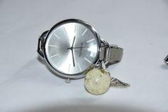 Fashion-Girl-Women-039-s-Quartz-Stainless-Steel-Analog-Wrist-Watch-Bracelet-Flower