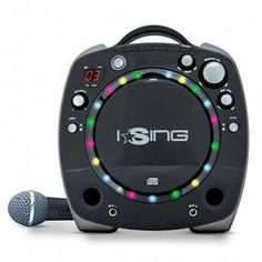 Sakar® Karaoke Machine With Flashing Lights - Sears Built In Speakers, Karaoke, Flashlight, Entertaining, Lights, Speaker System, It's Easy, Phoenix, Cook