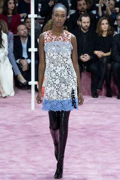Christian Dior Spring 2015 Couture Fashion Show - Leila Nda (Women)