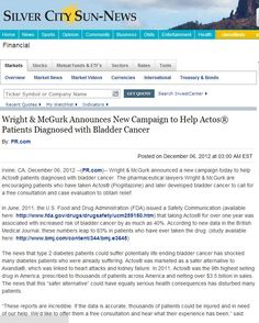Silver Sun City News has published Wright McGurk, our clients.