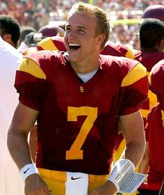 Matt Barkley, I went to high school with this lad for a year. My my my <3