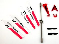 Full Set Replacement Parts for Syma S107 RC Helicopter, Main Blades, Tail Decorations, Tail Props, Balance Bar, -Red Set- by Syma, http://www.amazon.com/dp/B004VGD0ZG/ref=cm_sw_r_pi_dp_In.Krb0PR5VR0