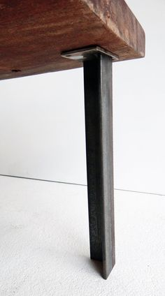 SET of 4 Angle Iron Table Legs for dining by TimberForgeWoodworks