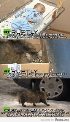 This Baby Boy Was Found In Obninsk, Russia