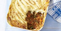 Tuck into this vegetarian cottage pie from Mary Berry for a hearty dinner or weekend lunch. This recipe is a great winter warmer and perfect for big family dinners.