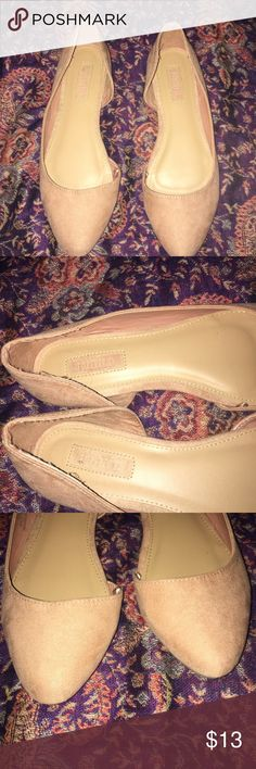 Forever 21 Flats Pinkish Nude flats, worn once for a wedding, but not really my style Forever 21 Shoes Flats & Loafers