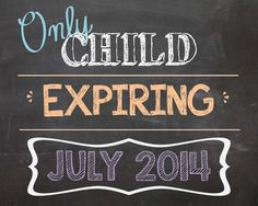 Personalized Pregnancy Chalkboard Announcement by MMasonDesigns, $15.00