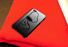 Snoopy iPhone 4 iPhone 4S Case by caseboy on Etsy, $15.79